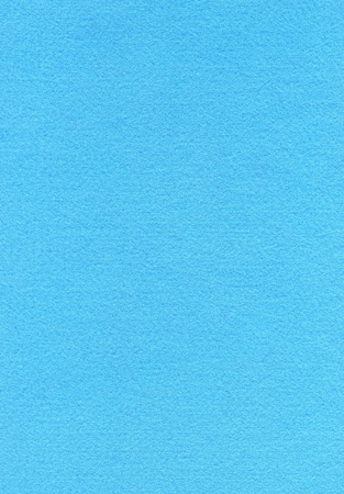 High resolution close up of baby blue felt fabric. Stock Photo