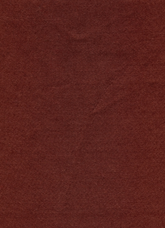 umber: High resolution close up of burnt umber brown felt fabric. Stock Photo
