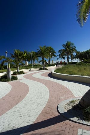 Rollerblade and walking trail photo
