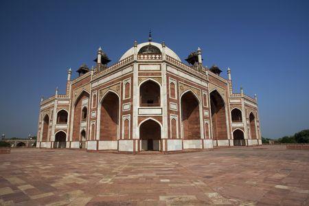 Humayun's Tumb Monument Building Stock Photo - 4262824