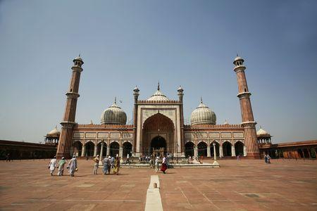 Jama Masjid Side Full Wide Whole photo