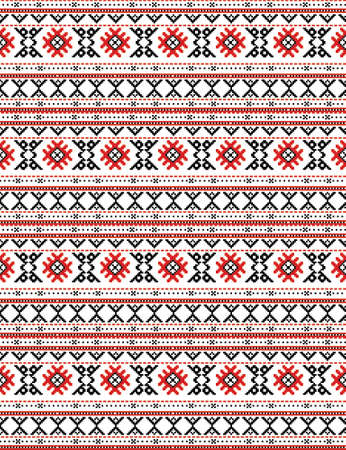 The russian traditional embroidry Stock Vector - 3913938