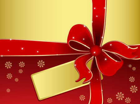 abstract gift box -  holiday background