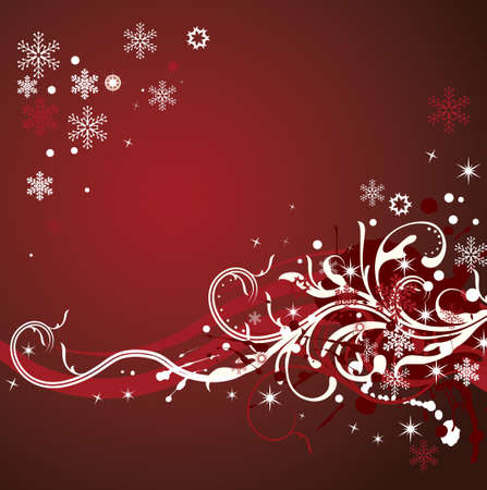 Abstract winter background Stock Vector - 7454212
