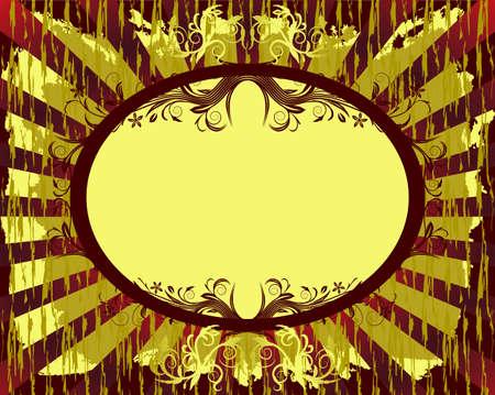 abstract floral achtergrond met plaats voor uw tekst