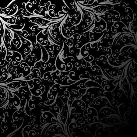 Grunge floral frame met ruimte voor tekst