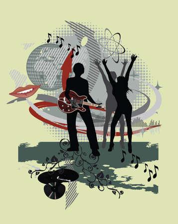 Muziek-poster