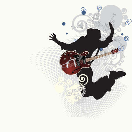 guitarristas: P�ster de m�sica