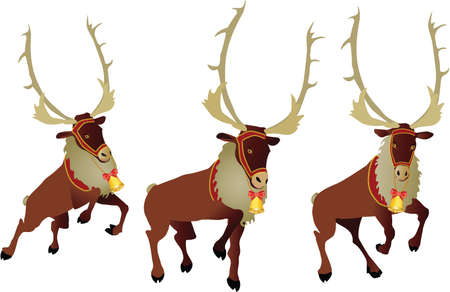 christmas deer Stock Vector - 7454102