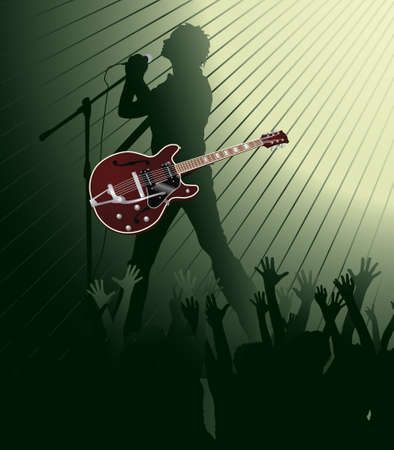 Music poster  Stock Vector - 7454101