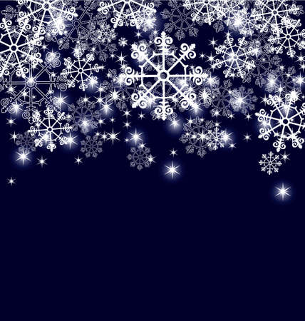 Abstract Christmas background Stock Illustratie
