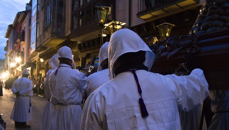 Medina de Rioseco, Spain - 22-04-2011 - Holy week processions.