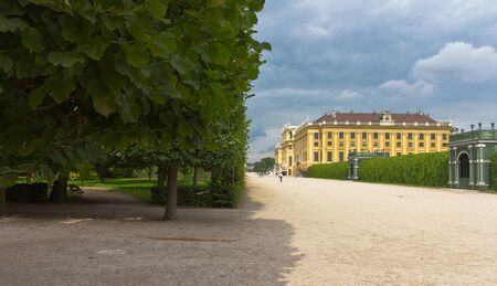 nbrunn: Vienna, Austria, July 23, 2011 - Sch�nbrunn Palace and its gardens