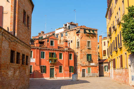 Ramo Va in Campo square in Venice, Italy. Stock Photo - 15669219