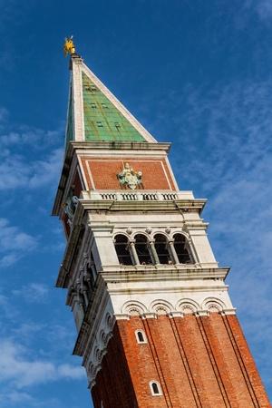 st  mark s: Campanile di San Marco, il campanile della Basilica di San Marco s a Venezia, Italia Archivio Fotografico