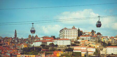 View of Douro river and Porto.