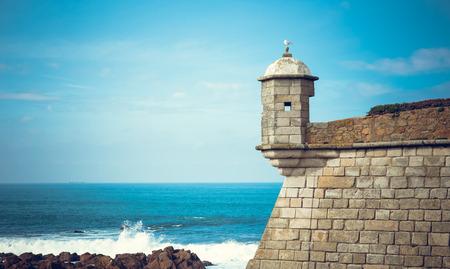 Castelo do Queijo or Cheese Castle or in Porto.