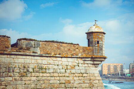 forte: Castelo do Queijo or Cheese Castle or Forte Francisco Xavier in Porto.