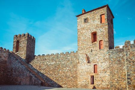 Inner domain of the fort castillo of Braganza.