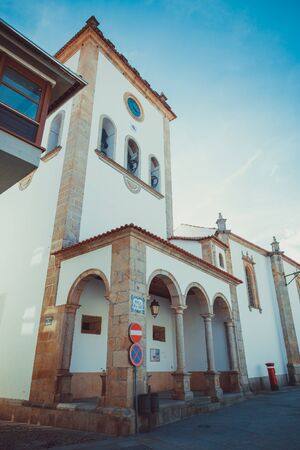 Church in downtown Braganza in Portugal.