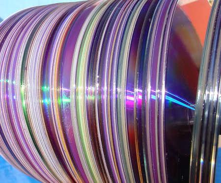 cd rw: Several Compact disks