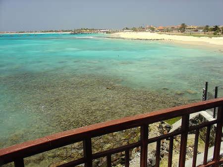 cape verde: Santa Maria beach in Cape Verde Islands