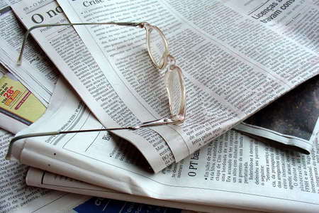 commodities: The newspaper and the glasses