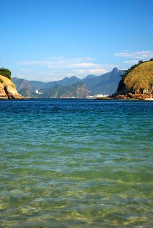 Copacabana beach view from Niteroi photo