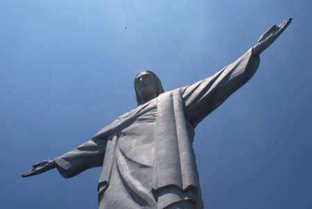 Christ statue in Corcovado in Rio de Janeiro