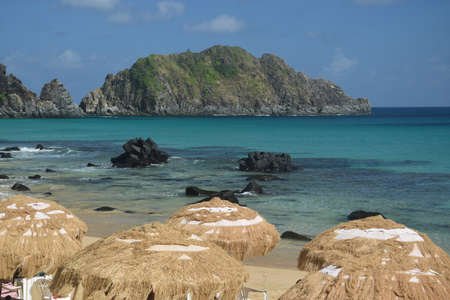 crystalline: Crystalline sea beach in Fernando de Noronha,Brazil