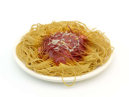 Spaghetti bolognese Stock Photo - 14584701