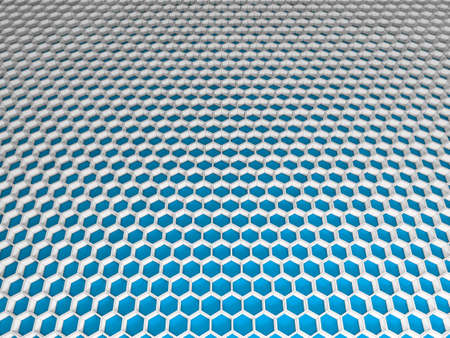 Abstract honeycomb hexagon light mesh grid Stock Photo - 14745939