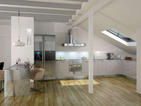 Cocina moderna de Lujo Arquitectura Interior