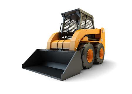 front loader: Pequeños vehículos de carga de la construcción