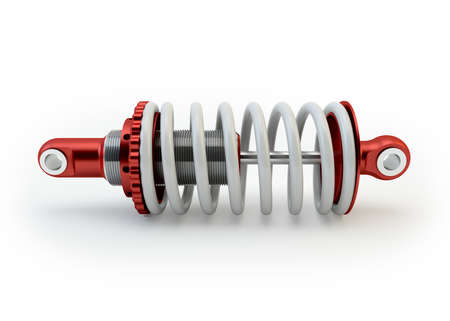 Sport Shock absorber isolated on white background Stock Photo - 23300220