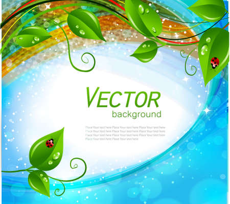 Abstract nature background  Stock Vector - 12152423