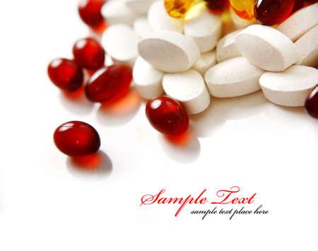 antibiotic pill: pills background