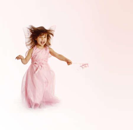 beautiful girl in a fairy costume  photo