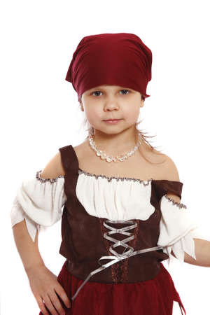 girl in carnival costumes  photo