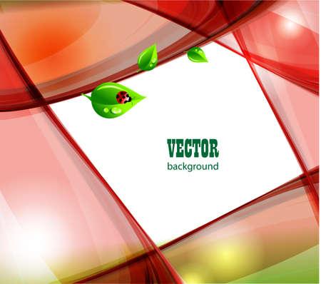 Summer greeting card  Vector illustration  Stock Illustration - 13001344