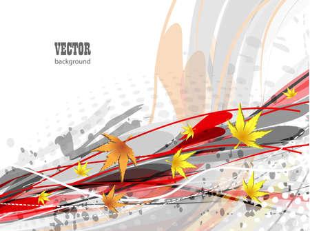 Autumn vector background Stock Photo - 13001390