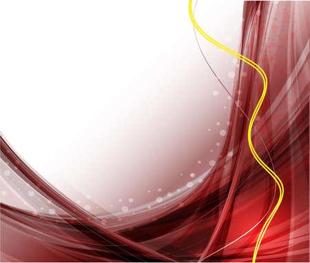波状のベクトル デザイン照明効果ベクトルと抽象化します。