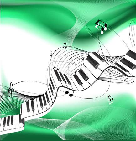 pianoforte: Music background