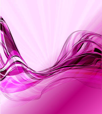 Abstract wavy vector design photo