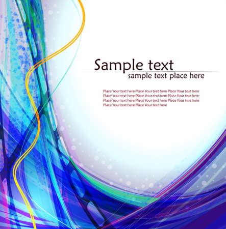 Abstract background with lighting effect.