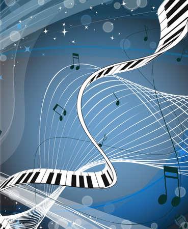 piano closeup: Music background.