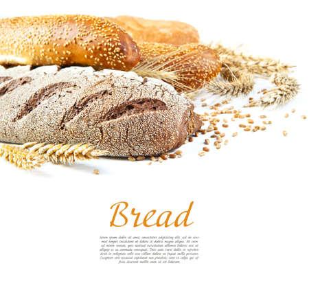 テキストのためのスペースでパンの種類