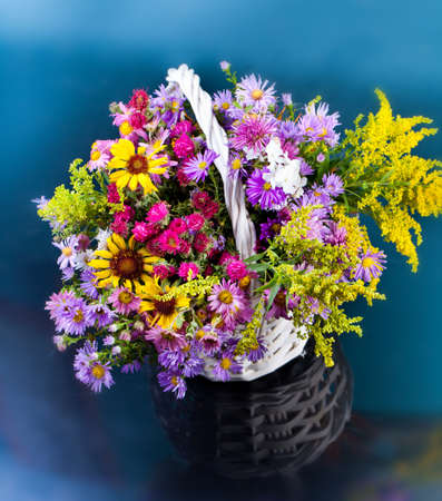 Autumn bouquet flower photo