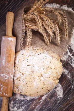 the dough: Pasta