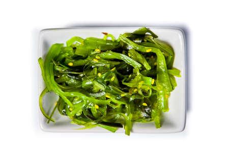 Traditional Japanese Chuka seaweed salad